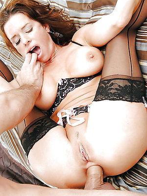 naughty mature brunette anal