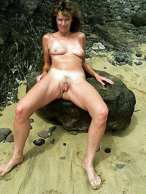 gorgeous mature nude beach