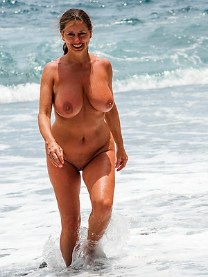 matured nude beach battalion posing nude