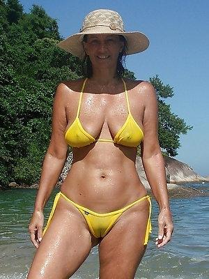 hotties grown-up woman bikini