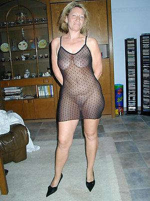 naughty sexy mature blonde