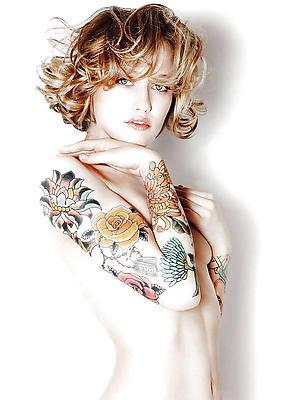 xxx tattooed mature women pics