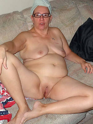 private nude old women displaying will not hear of pussy