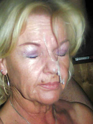 amazing mature cum facials