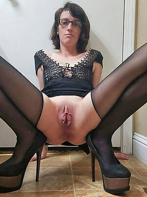 amazing sexy grown-up in heels