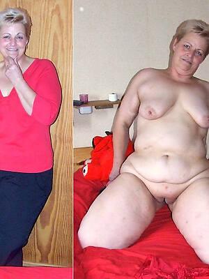 naught full-grown milf dressed undressed pics