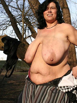 obese boobs mature women stripped