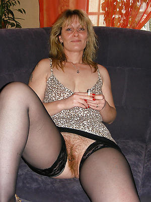 wonderful unshaved mature women