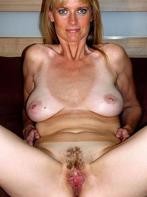 beautiful unshaved mature women