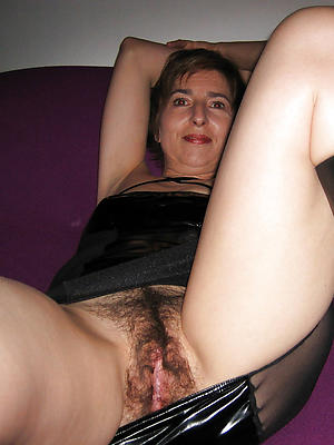 curvy mature hairy vagina