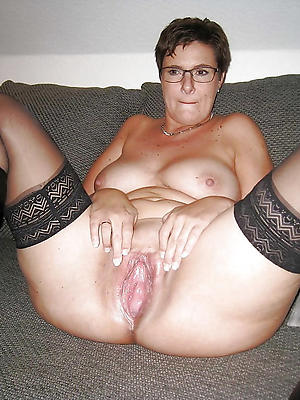 slutty mature shaved vagina