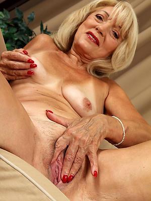 fall short of mature blonde nude