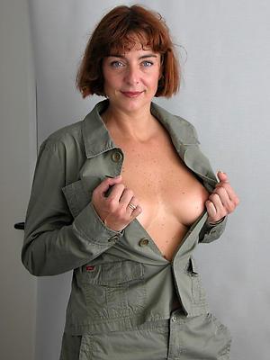 erotic mature women posing bald