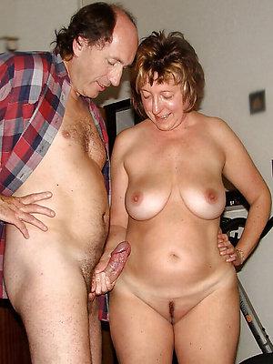 mature amateur couple stripped