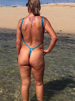 crazy mature nude beach women