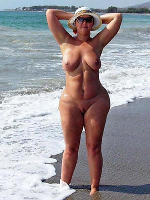 crazy bare mature beach
