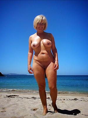 wonderful cold matured beach