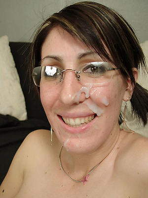 crazy mature homemade facial cumshots