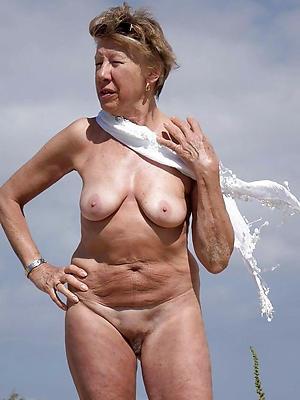 Bohemian pics of chap-fallen naked grandma