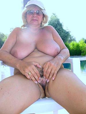naked aged grandma stripped
