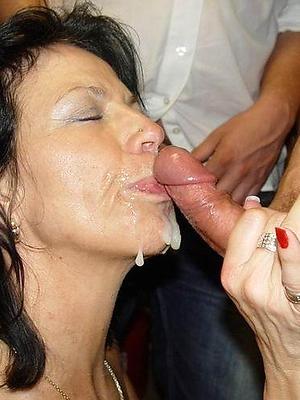 nasty nude mature milf facial