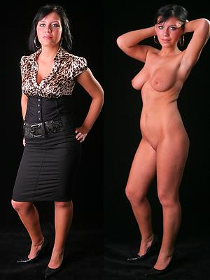 dressed undressed mature porn homemade pics