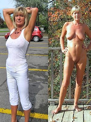 free pics of dressed undressed mature