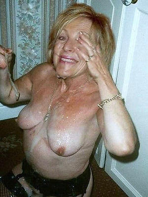 beautiful amateur mature facial