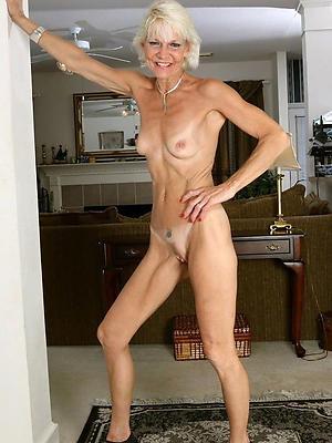 crazy mature skinny milf nude pics