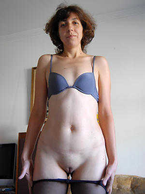 nude mature single stripped