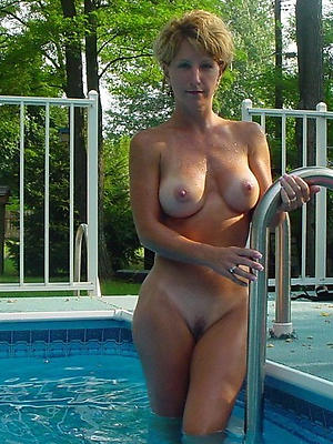 naughty naked mature tits outdoors
