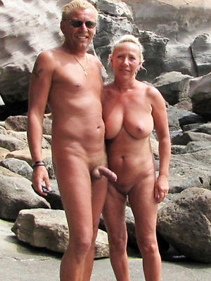 mature older couples posing nude