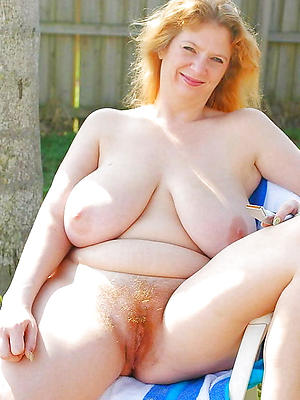pulchritudinous grown up redhead pussy porn pictures