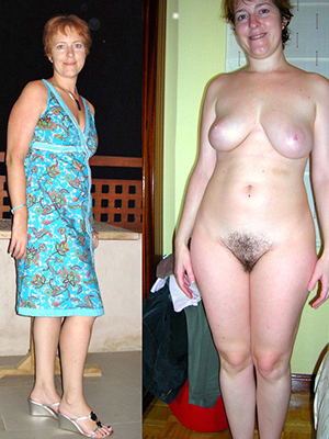 free pics be proper of milf dressed undressed pics