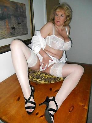 morose mature ladies stripped