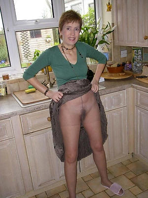 porn pics of of age woman in pantyhose