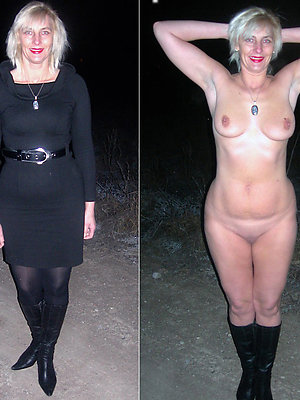 naughty mature dressed undressed sex pictures