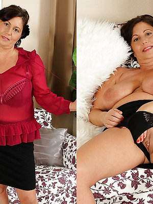 fantastic matures dressed plus undressed