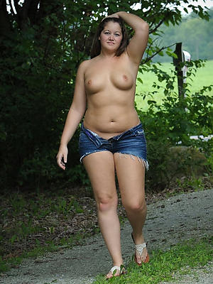 naked matured close-fisted jeans stripped