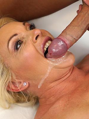admirable mature wife facial homemade pics