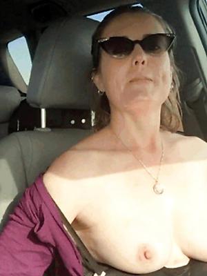 naught naked mature homemade selfie