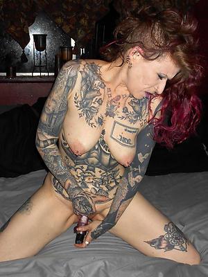 wonderful mature women just about tattoos homemade porn