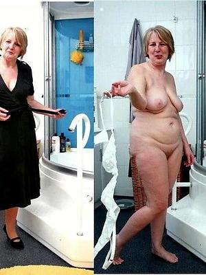 crazy mature amateur dressed undressed