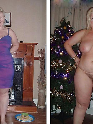 free pics of mature dressed vs uncovered