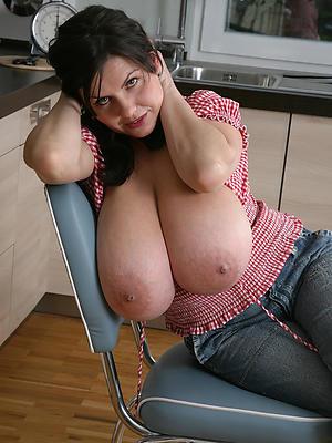 low-spirited matures big boobs stripped