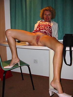 mature womens legs stripped