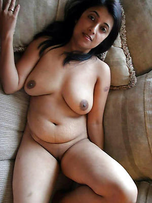beautiful hairy full-grown indian
