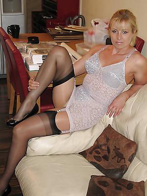 extravagant mature woman in underwear homemade porn