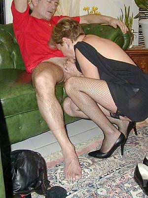 gorgeous mature woman blowjob