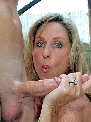 beautiful mature handjob pictures